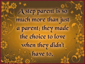 quotes about being a step parent