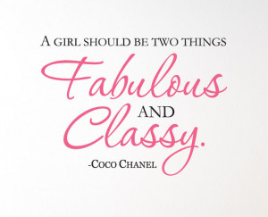Coco Chanel Quotes Coco Chanel Quote Quot a Girl