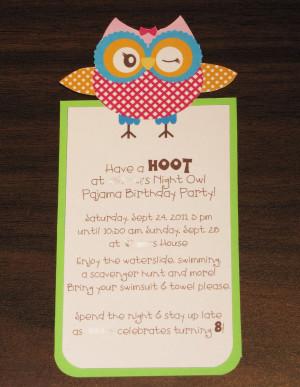 Owl Birthday Quotes Quotesgram