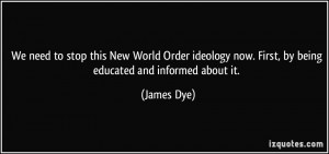 The Globalists' Agenda – New World Order Quotes from Politicians ...