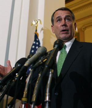 House Republican Leader, Rep. John Boehner