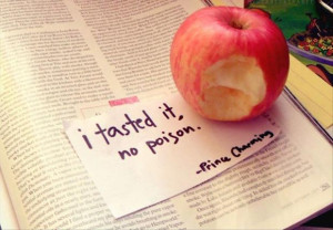 taste the apple disney prince charming