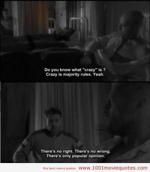 Twelve Monkeys (1995) - movie quote