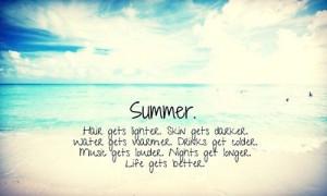 Missing summer