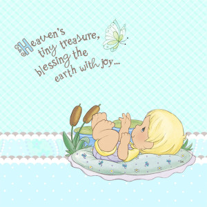 Home > Precious Moments Baby Boy Lunch Napkins