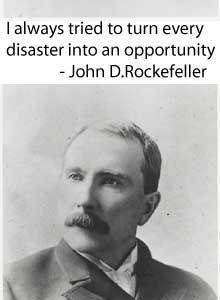 John D. Rockefeller quote