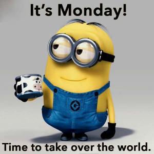 Mondays Minions, Laughing, Happy Mondays, Mondays Quotes, Minions ...