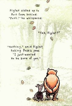 pooh bear quotes | The Empty Nest: ~~2012 will be the year of Pooh ...