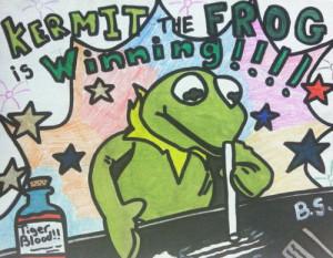 kermit drugs muppets cocaine winning