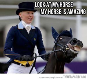 funny horse face crazy