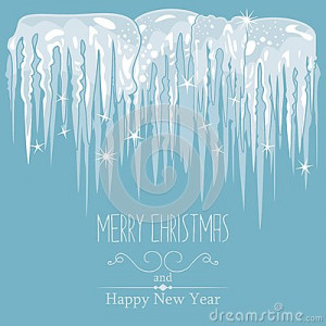 Winter Icicle Template For...