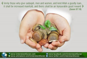 Understand Quran Academy > Articles > Sadaqah and Productivity: the ...