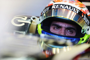 Pastor Maldonado in the cockpit of his Lotus, Australian Grand Prix ...