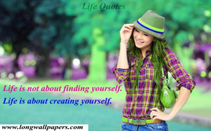 Quotes About On Life Hd Wallpaper