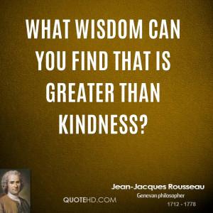 Jean-Jacques Rousseau Wisdom Quotes