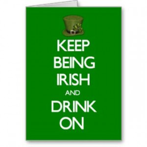 Cards, Note Cards and Funny Irish Quotes Greeting Card Templates