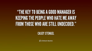 good manager quotes