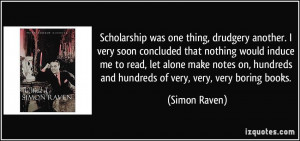 Quotes About Scholarship