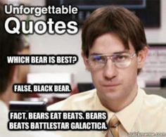 Best quote of the office ever. Seriously one of my favorite scenes ...