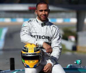 Provocative: Lewis Hamilton has raised the stakes with his former team ...