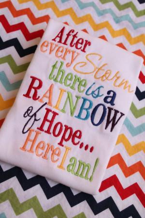 Rainbow Baby Onesie or Shirt by sarahsbabyemporium on Etsy, $18.00