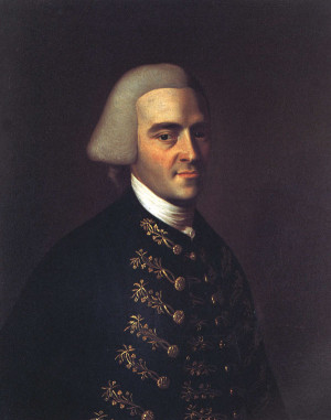 john hancock 1737 1793 portrait by john singleton copley oil on canvas ...