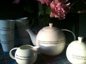 Jane Austen Tea set por purehokum en Etsy, $ 150,00 You may select ...