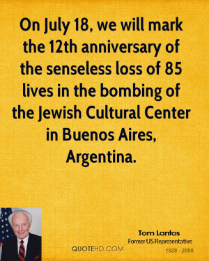 the bombing of the Jewish Cultural Center in Buenos Aires, Argentina ...