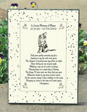 Memorial Poems for Loved Ones