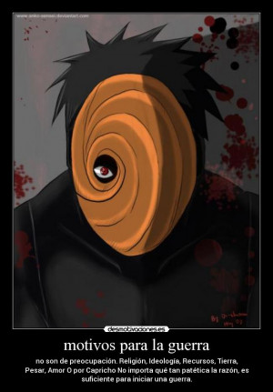 Tobi Uchiha Madara Whatever