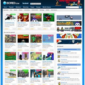 Play Free Games & Have Fun at Bored.com