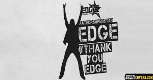 wwe edge thank you