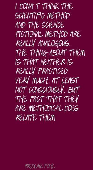 Scientific Method quote #2