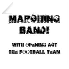 Marching Band Wall Decal