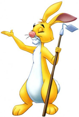 rabbit - Winnie The Pooh Picture