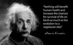 ... of life on Earth as much as the evolution to a vegetarian diet