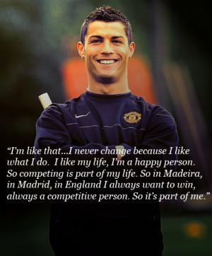 Cristiano Ronaldo Quotes