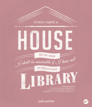 Library Love Letter Jane Austen