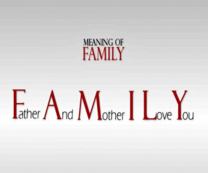 meaning of family quotes Image