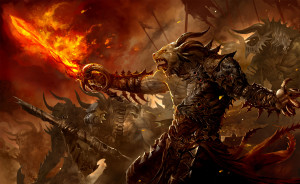 Fantasy Monsters Demons Guild Wars Wallpaper HD