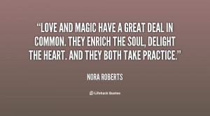 quotes quotes about love and magic
