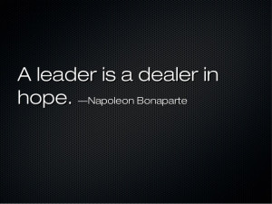 Leaders' quotes