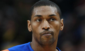 New York Knicks forward Metta World Peace was waived by the team ...