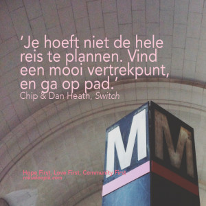 recovery quote 61 on: vertrekpunt