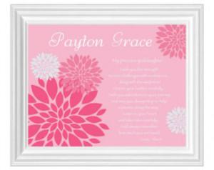 GODDAUGHTER gift personalized - Custom Gift for Goddaughter on Baptism ...