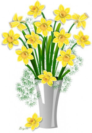Back > Flowers For > Narcissus Flower Clipart