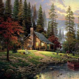 Thomas Kinkade Cottage...