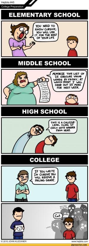Funny College Jokes