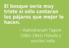 Rabindranath Tagore (1861-1941) Filósofo y escritor indio. More