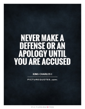 Apology Quotes King Charles I Accusation